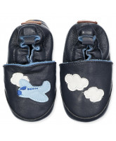 Slippers Leather shoe - Airplane
