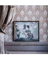Wand decoratie MISS POPPY