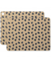 Kinderservies Leopard Dots