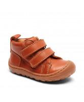 Schuhe in Cognac