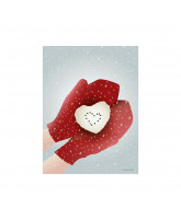 Kerst SNOW HEART